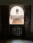 Ben Youssef Madrasa - carved balcony