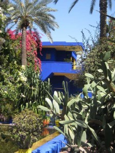 majorelle blue buildings