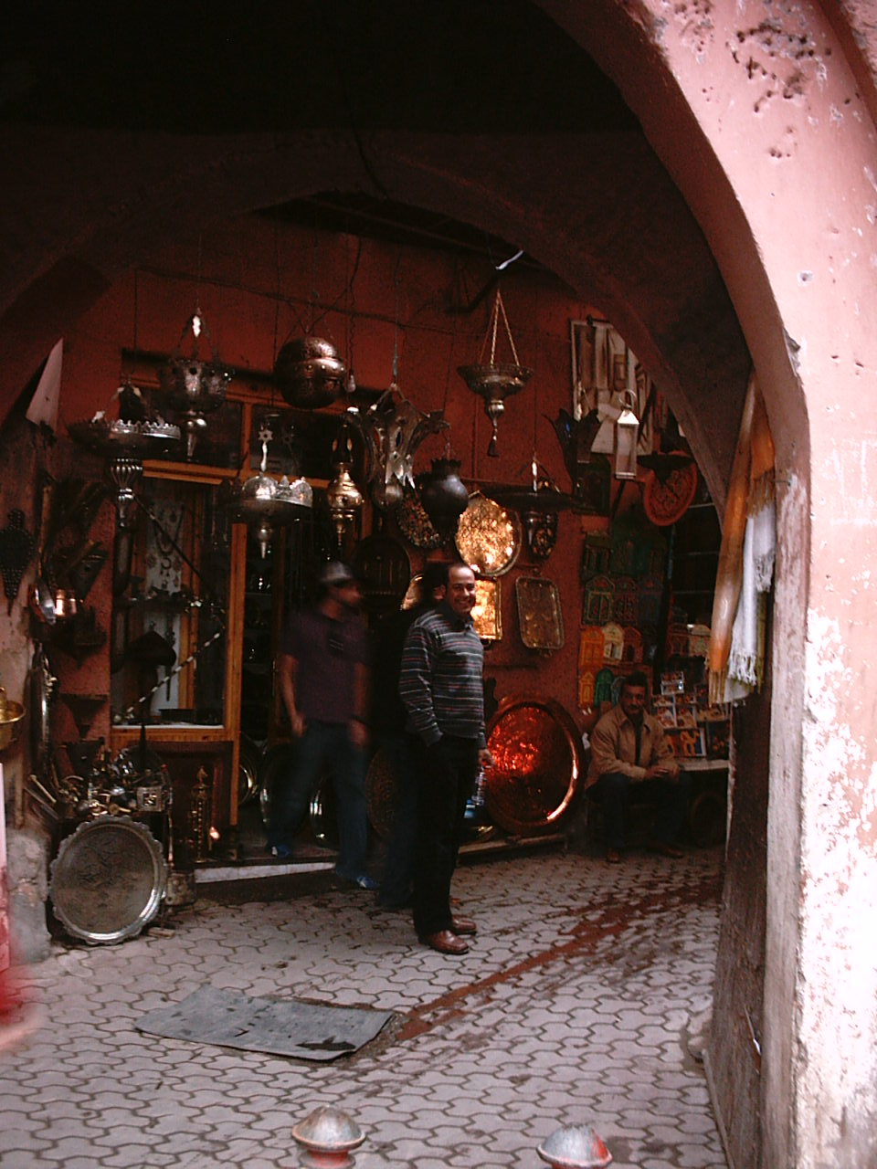 friendly shopkeepers in the medina