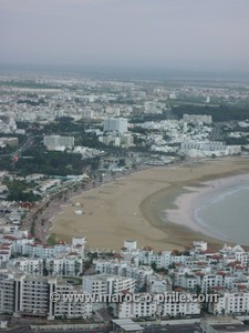 Agadir from the Kasbah