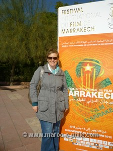 maroc-o-phile at the Marrakech Film Festival