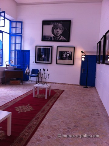Exhibition of Julien Capon in Essaouira
