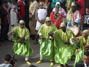 The 18th Essaouira Gnaoua festival opened with a  colourful parade