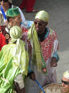Opening parade of 18th Gnaoua Festival 2015 Essaouira
