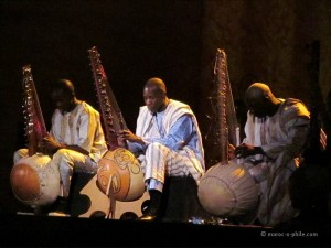 Koras of Mali at the Fes Sacred Music Festival