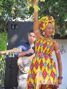 Fatoumata Diawara at the 21st Fes Sacred Music Festival