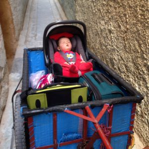 car seats can be handy in Morocco